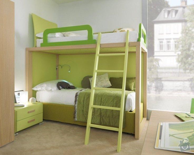 Nábytek na míru - patrová postel - 2 VARIANTY: b39b785f2ded45752db86f2565ec3c29