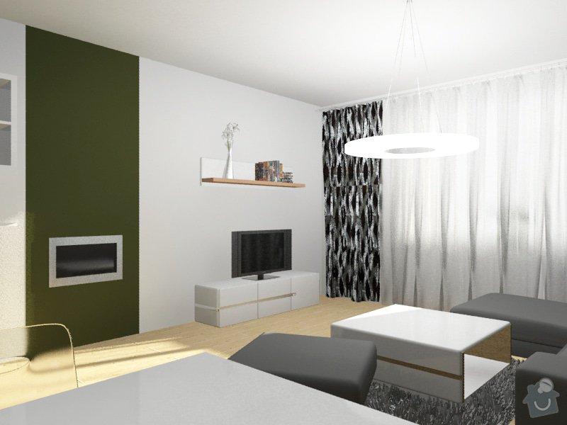 Modernizace obývacího pokoje v barvě khaki: Byt_Pristavni_obyvak_13