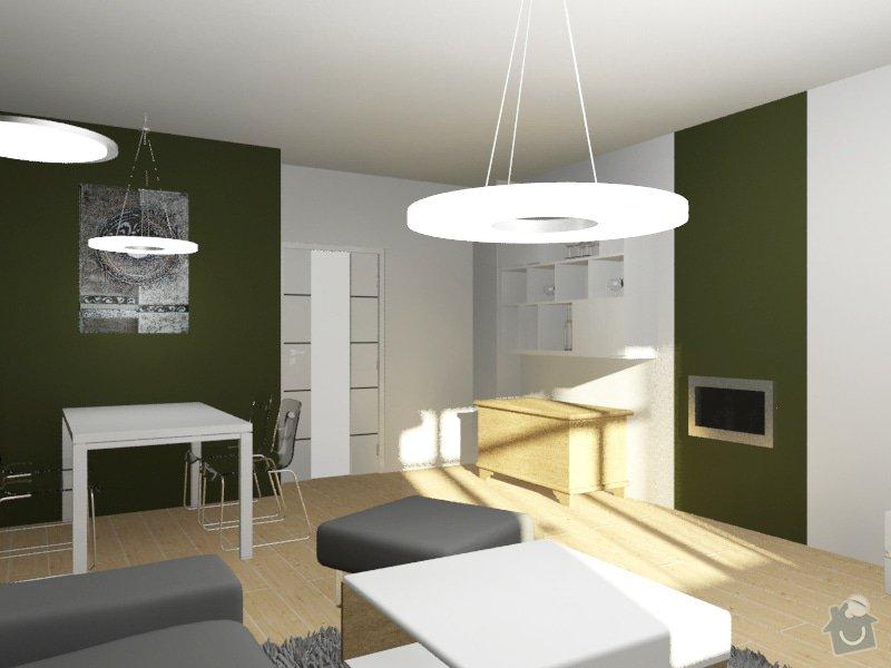 Modernizace obývacího pokoje v barvě khaki: Byt_Pristavni_obyvak_14