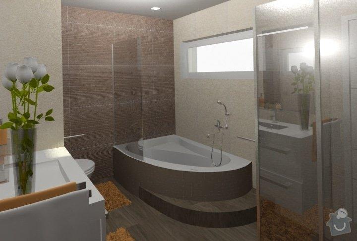 Návrh kuchyně, obývacího pokoje a koupelny: RD_Dub_nad_Moravou_koupelna_37