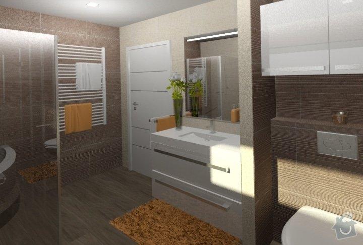 Návrh kuchyně, obývacího pokoje a koupelny: RD_Dub_nad_Moravou_koupelna_38