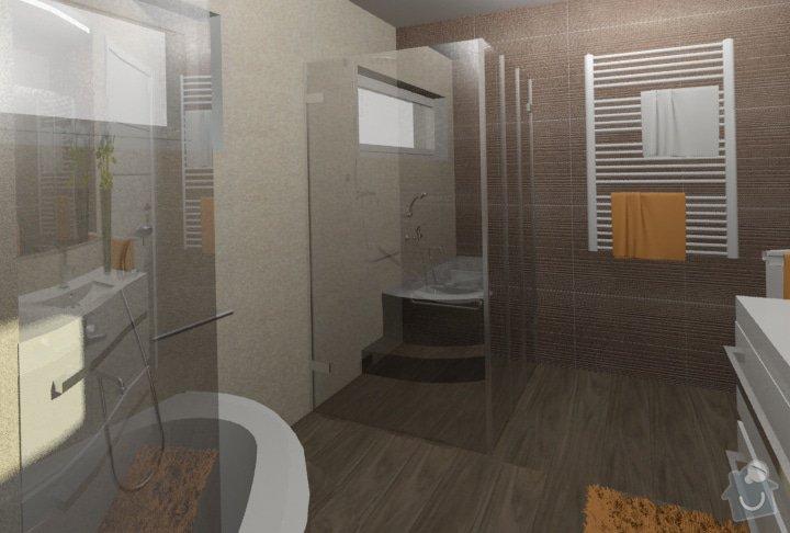 Návrh kuchyně, obývacího pokoje a koupelny: RD_Dub_nad_Moravou_koupelna_39