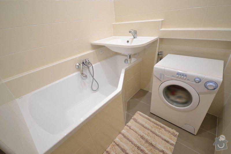 Rekonstrukce koupelny v panelovém bytě: H