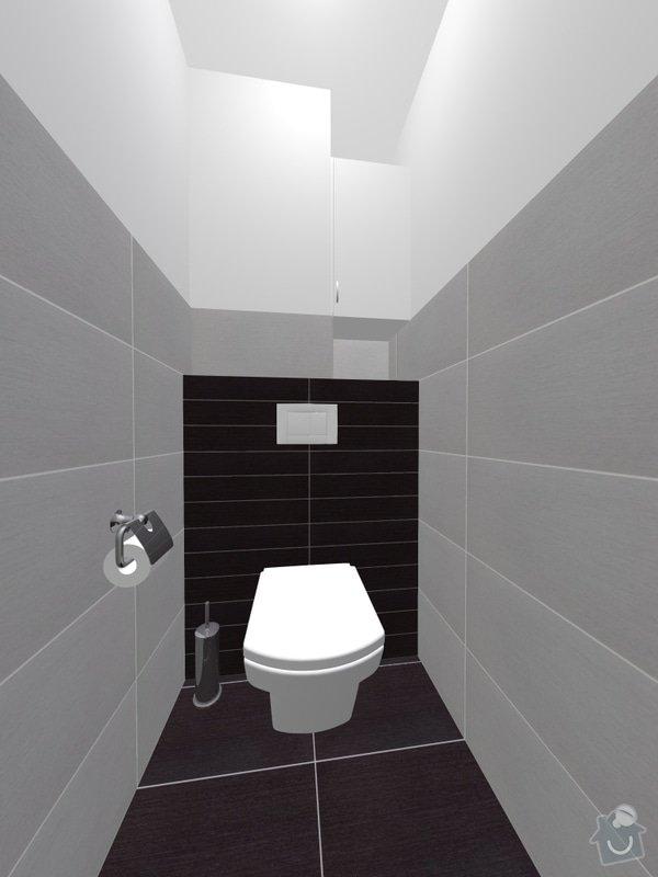 Oblozeni koupelny a WC: wc