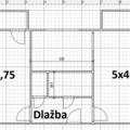 Vyliti podlah cca 40m2 anhydrit schema