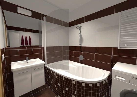 Rekonstrukce panelákové koupelny