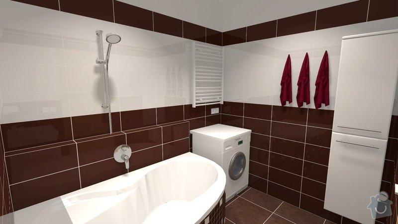 Rekonstrukce panelákové koupelny: r2