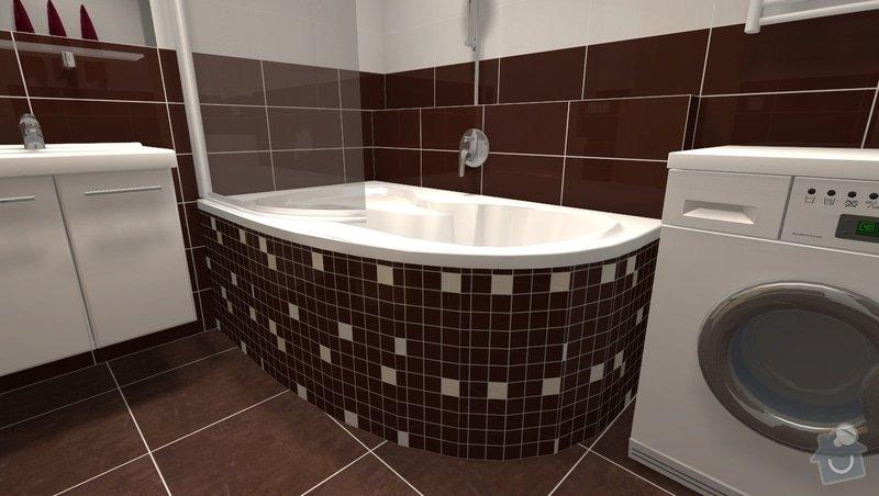Rekonstrukce panelákové koupelny: r3