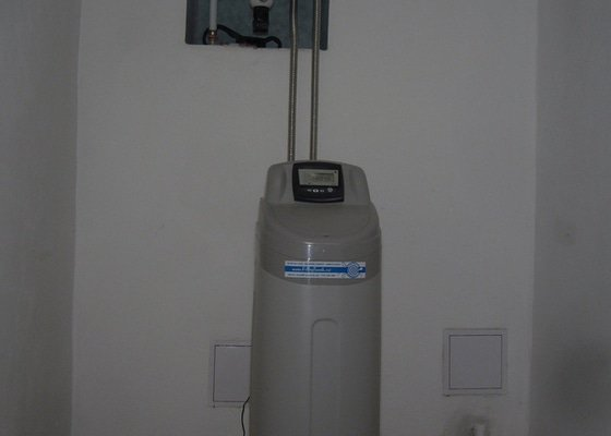 Dodávka+montáž změkčovače vody pro RD