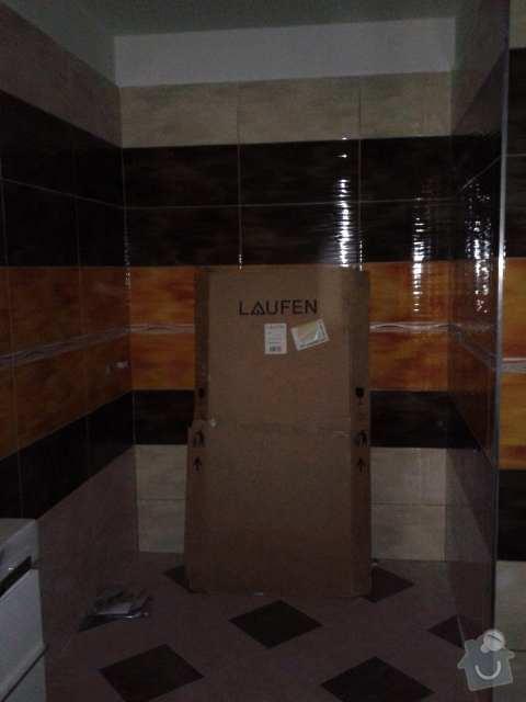 Sprchová stěna s posuvnými dveřmi: sprchac