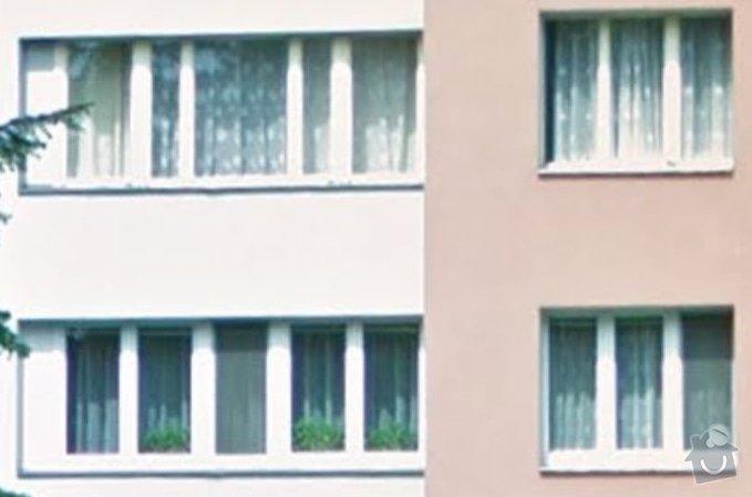 Nová plastová okna, panelákový byt 4+1, KT: okna2