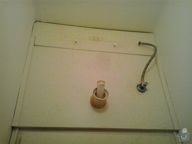 Výměna WC splachovače+vod.baterie: 20140131_153902