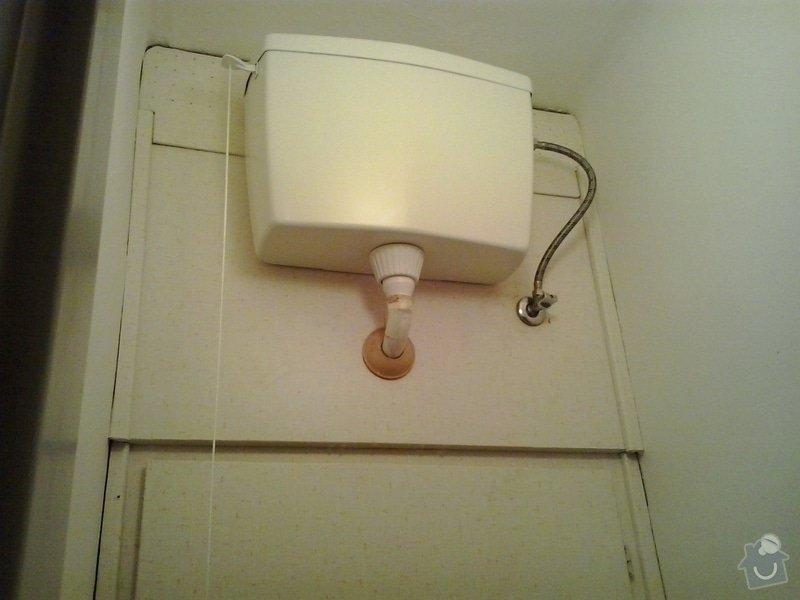 Výměna WC splachovače+vod.baterie: 20140131_160033