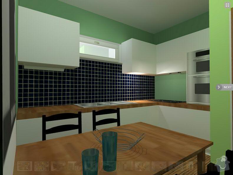 Vyroba, dodani a montaz kuchynske linky BRNO: kuchyn1