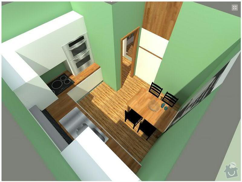 Vyroba, dodani a montaz kuchynske linky BRNO: kuchyn2