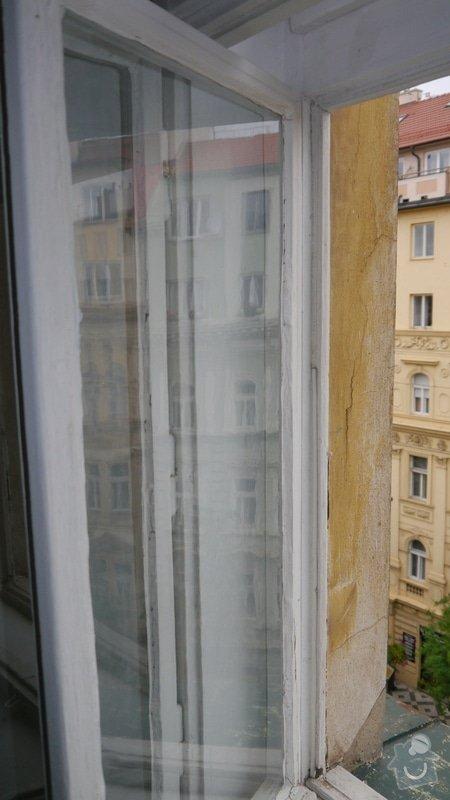 Oprava špaletových oken, těsnění: P1050589