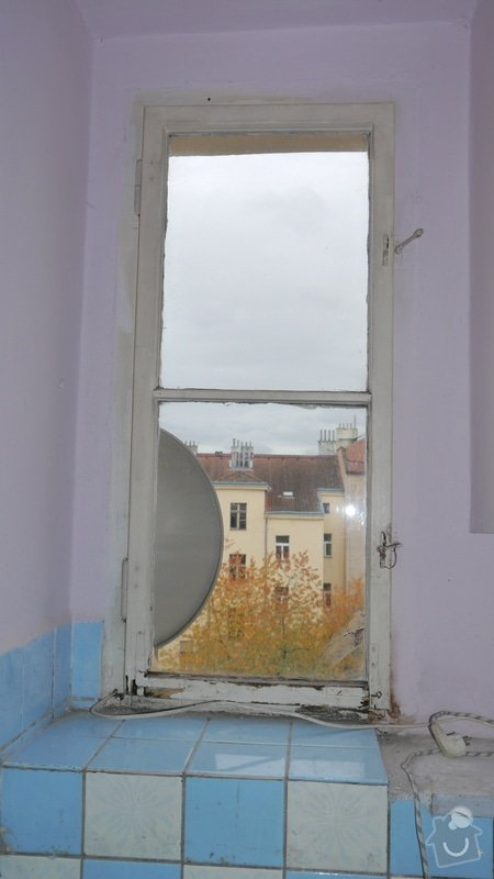 Oprava špaletových oken, těsnění: P1050598