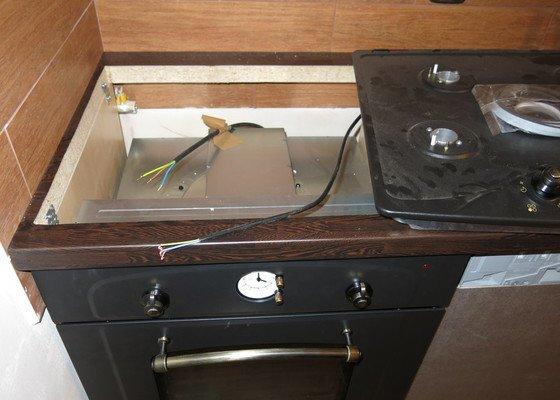 Zapojení plynové varné desky a elektrické trouby