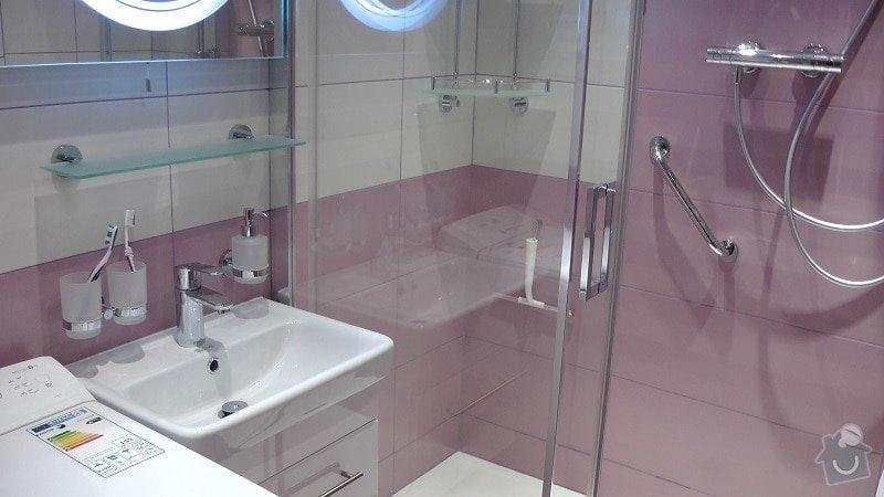 Kompletní rekonstrukce koupelny: 200-07