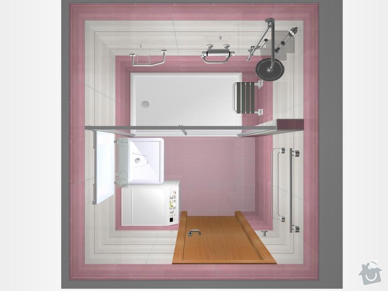 Kompletní rekonstrukce koupelny: 3D-01