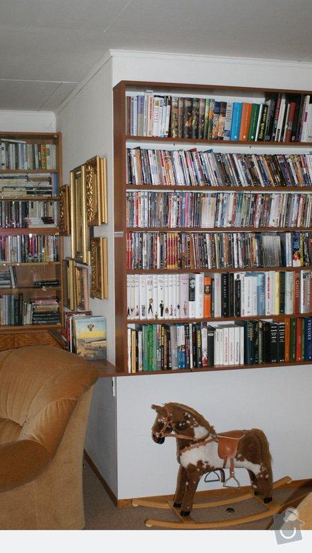 REFRESH obývacího pokoje: Knihovna