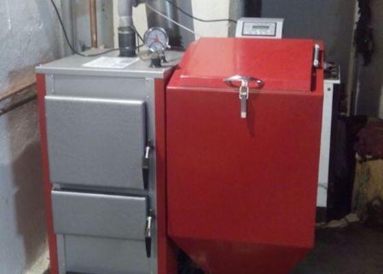 Připojení automatického kotle Greeneco