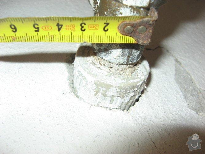 Výměna tlakového ventilu v rozvodu u bojleru: napojeni_do_zdi