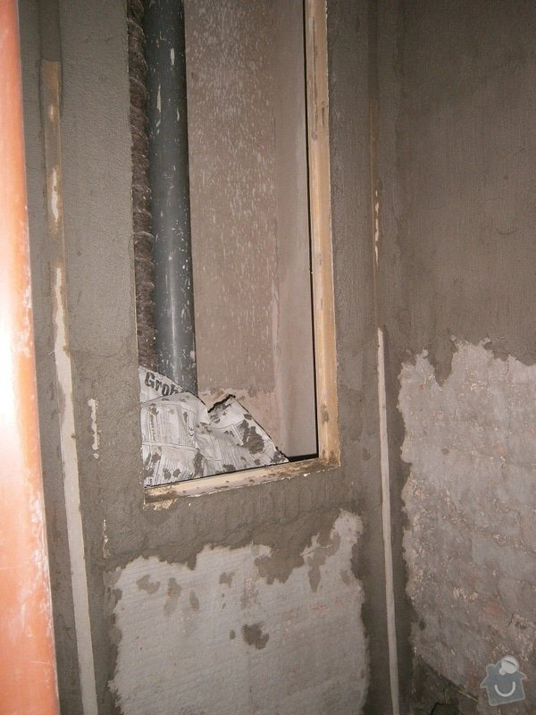 Rekonstrukce koupelný - voda+plyn+topení: 8
