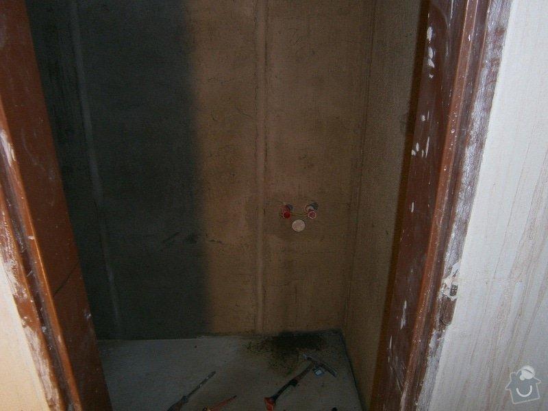 Rekonstrukce koupelný - voda+plyn+topení: 11