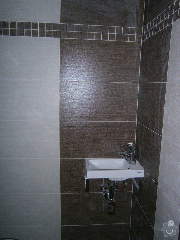 Rekonstrukce koupelný - voda+plyn+topení: 12