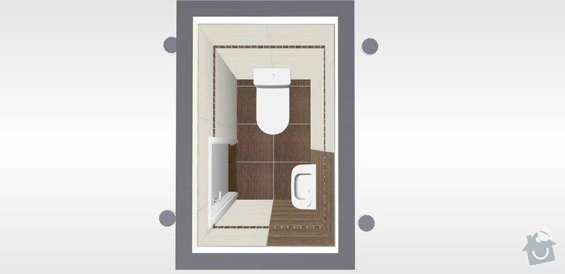 Rekonstrukce koupelný - voda+plyn+topení: 13