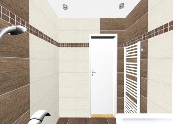 Rekonstrukce koupelný - voda+plyn+topení