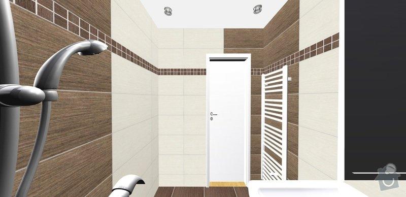 Rekonstrukce koupelný - voda+plyn+topení: 16