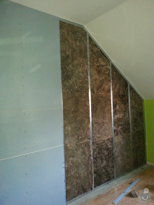 Odhlučnění zdi: 20140203_155521