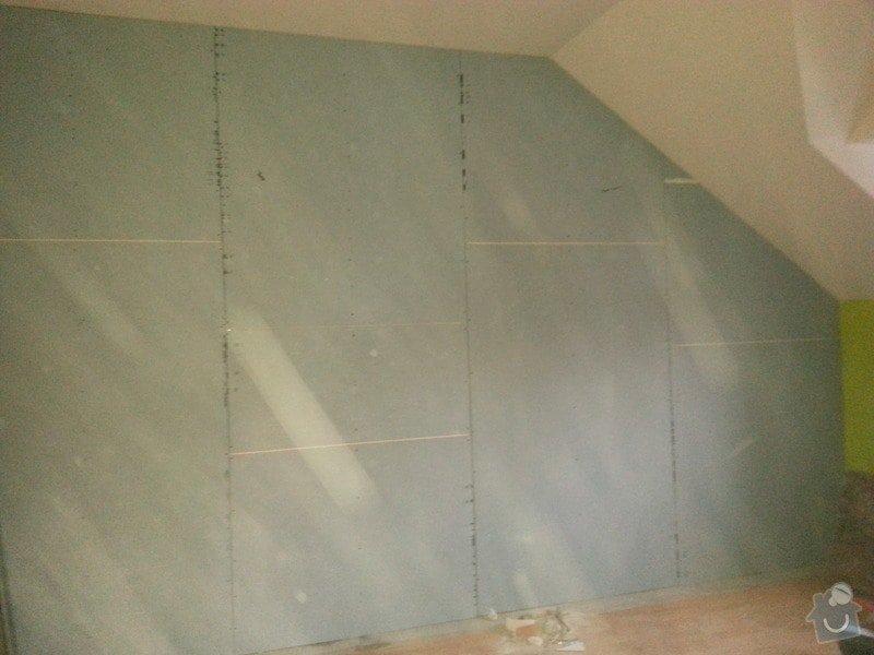 Odhlučnění zdi: 20140203_163828