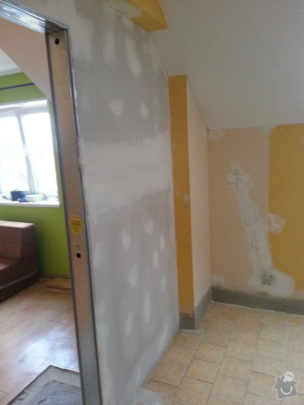Odhlučnění zdi: 20140205_141106