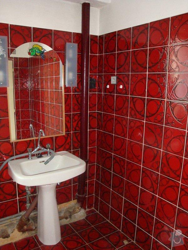 Rekonstrukci koupelny v rodinném domě: DSC05330