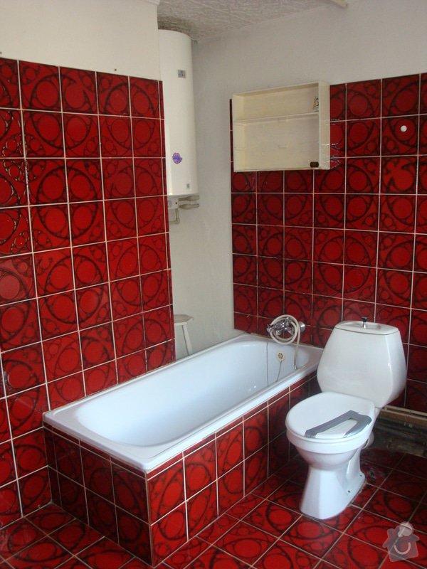Rekonstrukci koupelny v rodinném domě: DSC05335