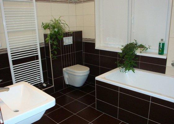 Rekonstrukci koupelny v rodinném domě