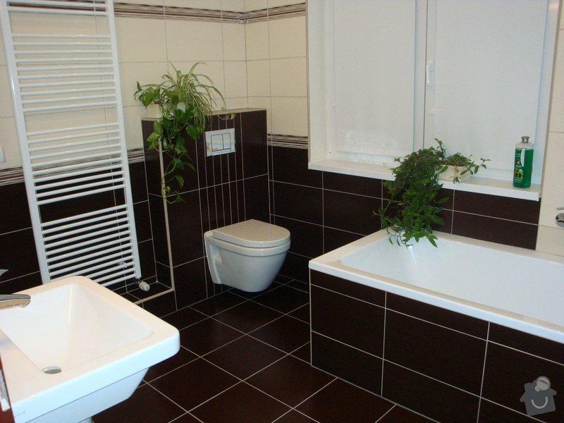 Rekonstrukci koupelny v rodinném domě: DSC07027