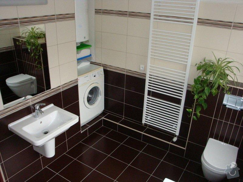 Rekonstrukci koupelny v rodinném domě: DSC07115