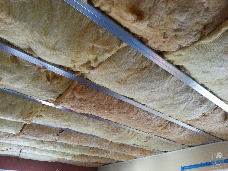 Sádrokarton-strop v obývacím pokoji: 20140204_125334