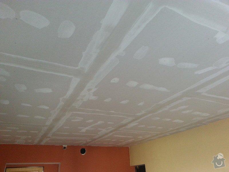 Sádrokarton-strop v obývacím pokoji: 20140204_143526