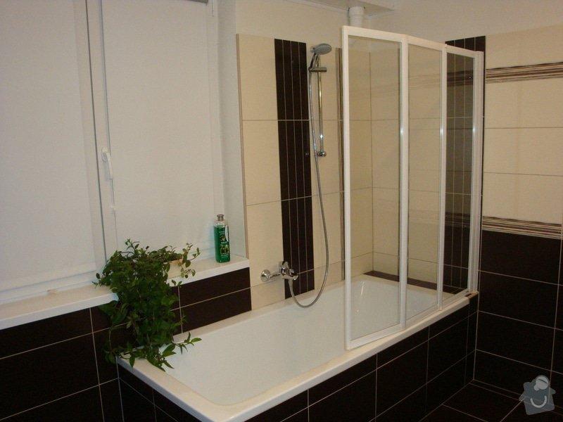 Rekonstrukci koupelny v rodinném domě: DSC07066