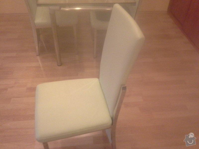 Přečalounění kuchyňských židlí: 20140124_082319