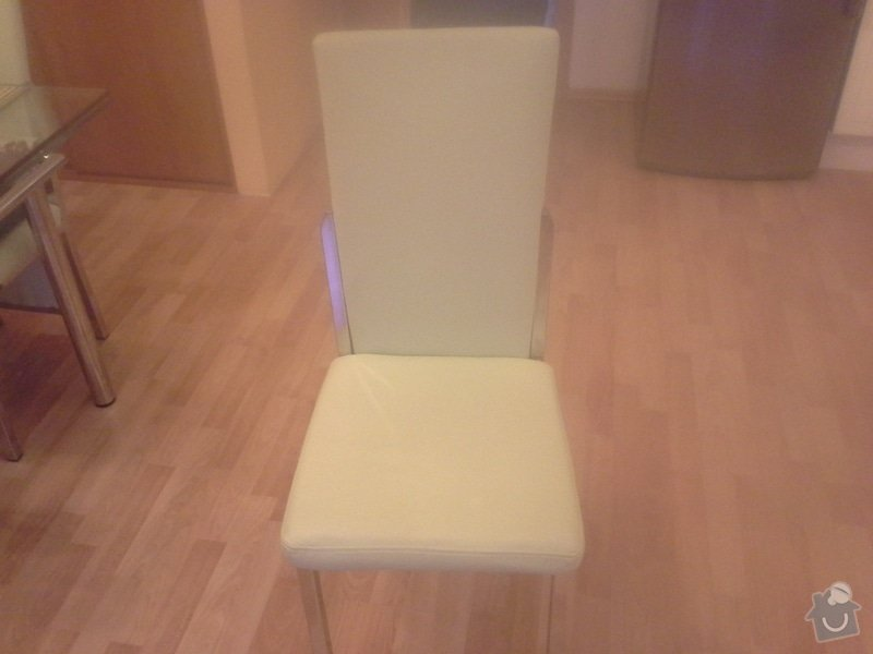 Přečalounění kuchyňských židlí: 20140124_082329