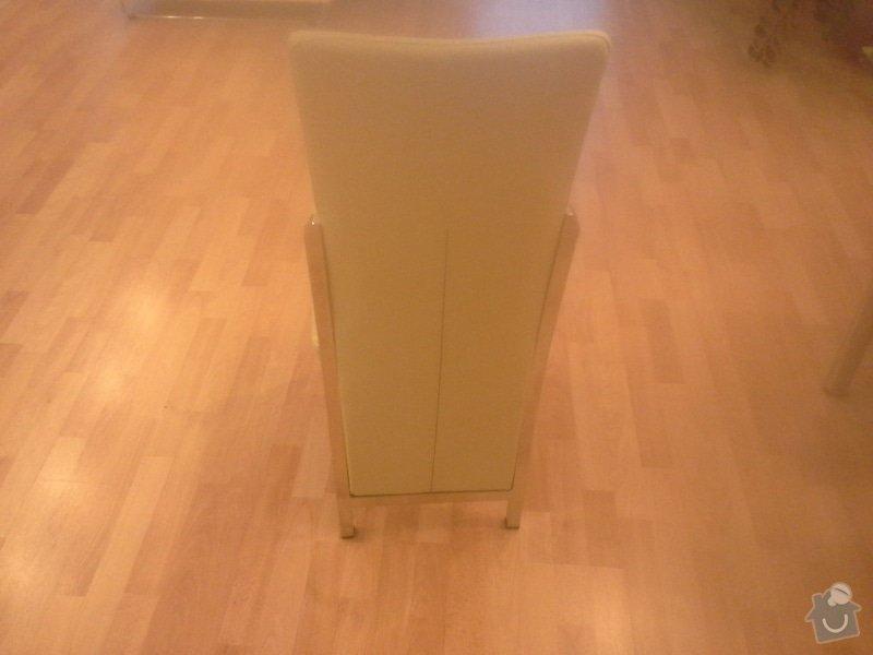 Přečalounění kuchyňských židlí: 20140124_082354
