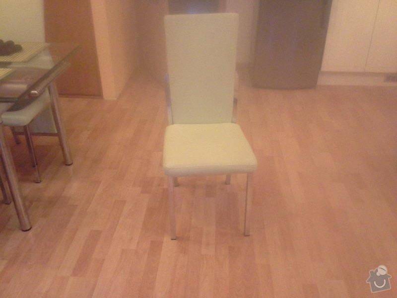 Přečalounění kuchyňských židlí: 20140124_082408
