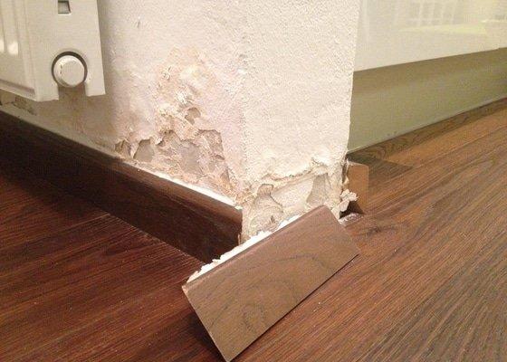 Sanace vnitřních příček a drobná oprava fasády