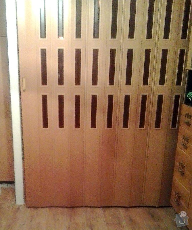 Montáž shrnovacích dveří: 2014-02-10_19.59.07